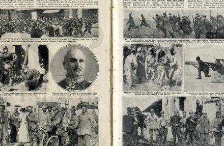 1914 WW1 Magazine FARRIER Marne Battle DOBERITZ POW Nis Serbia RFC War (6000)